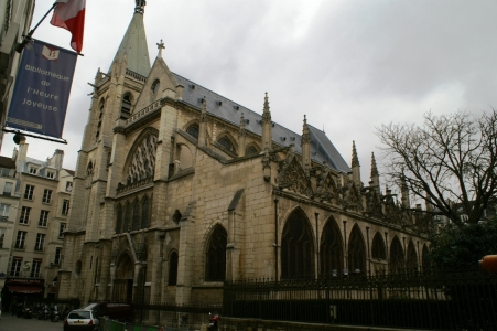 Saint-Séverin, Paris