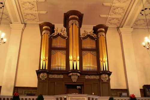 Hidden pipe organ treasures in the City of London