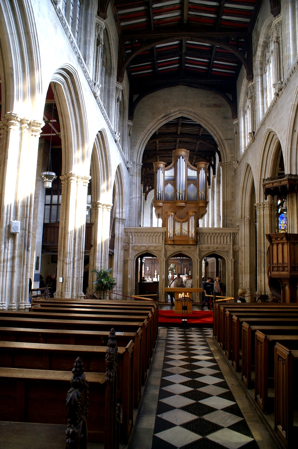 The University Church of St Mary the Virgin (Photo: R Blanch)