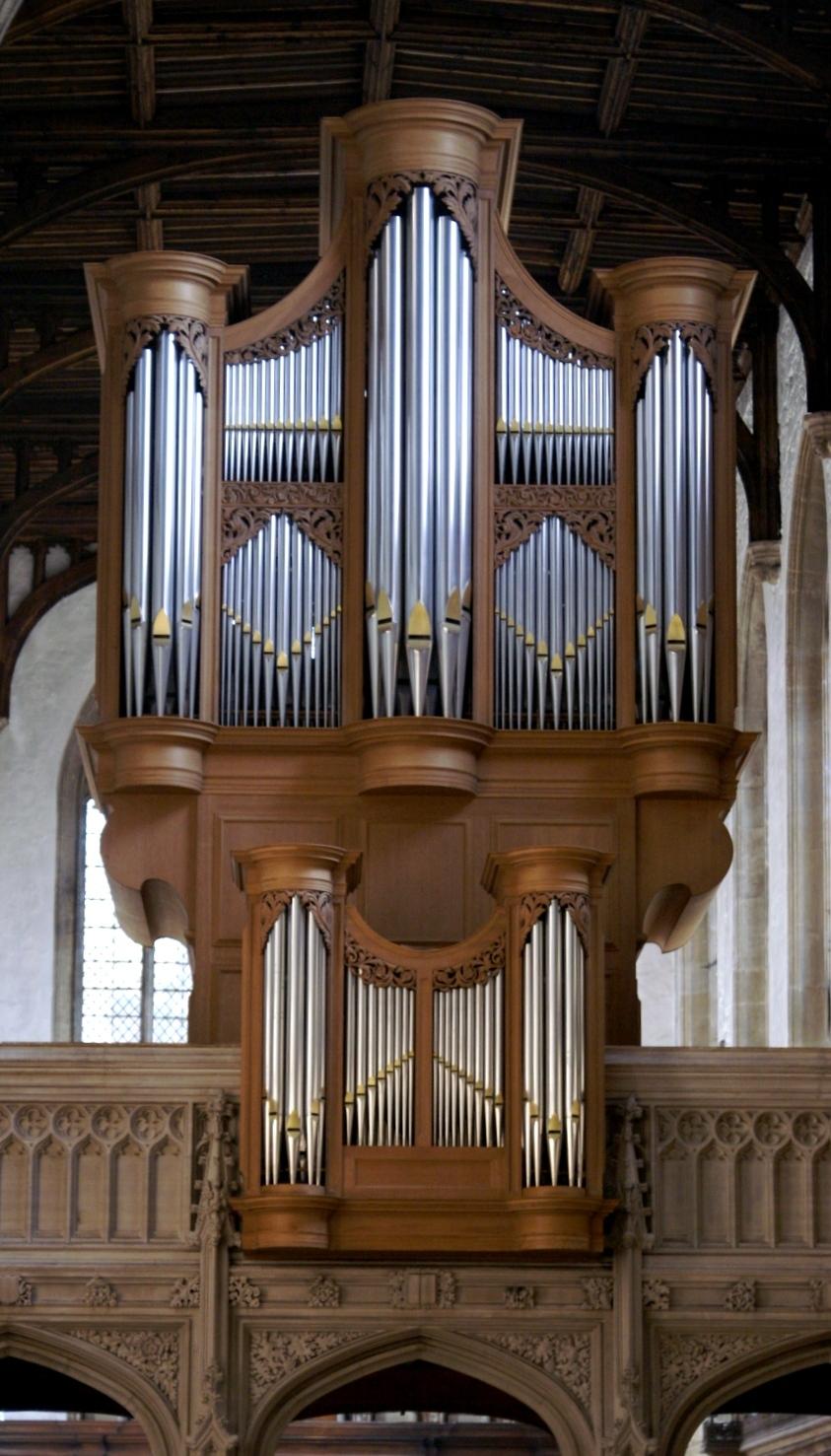 Metzler organ, The University Church of St Mary the Virgin (Photo: R Blanch)
