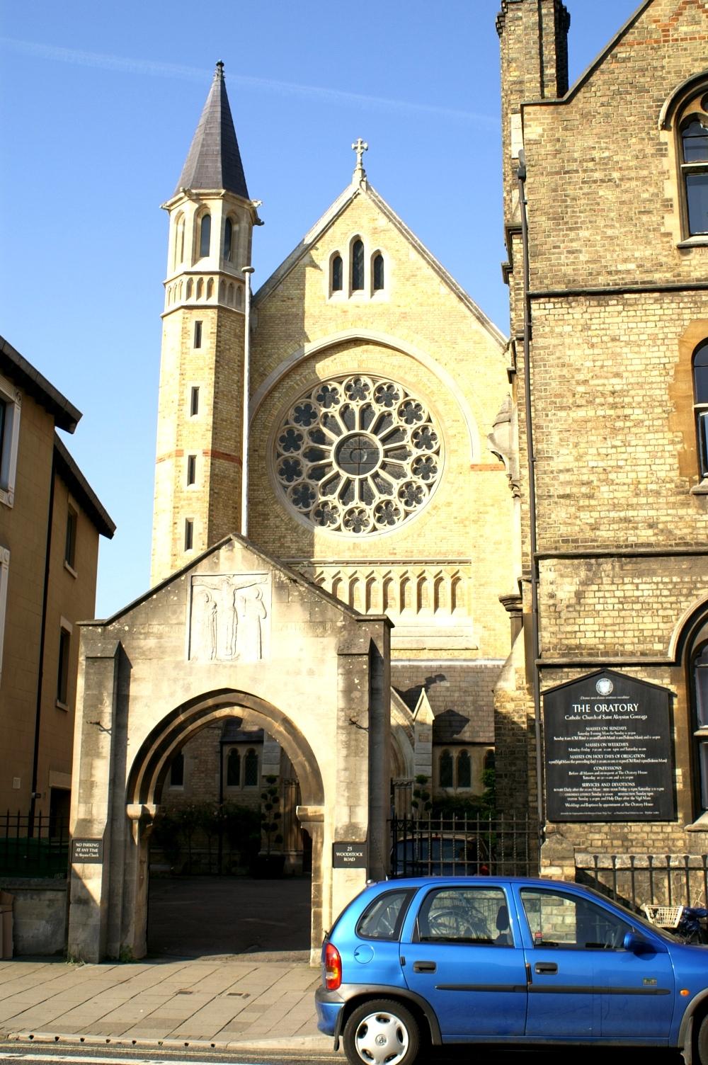 The Oxford Oratory (St Aloysius) (Photo: R Blanch)