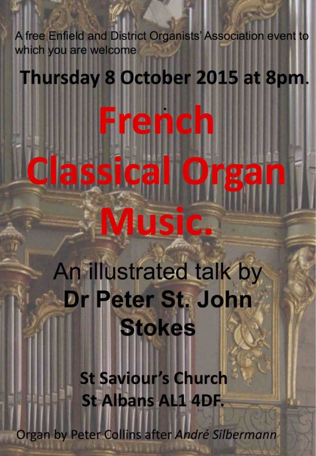 French Classical Organ Music